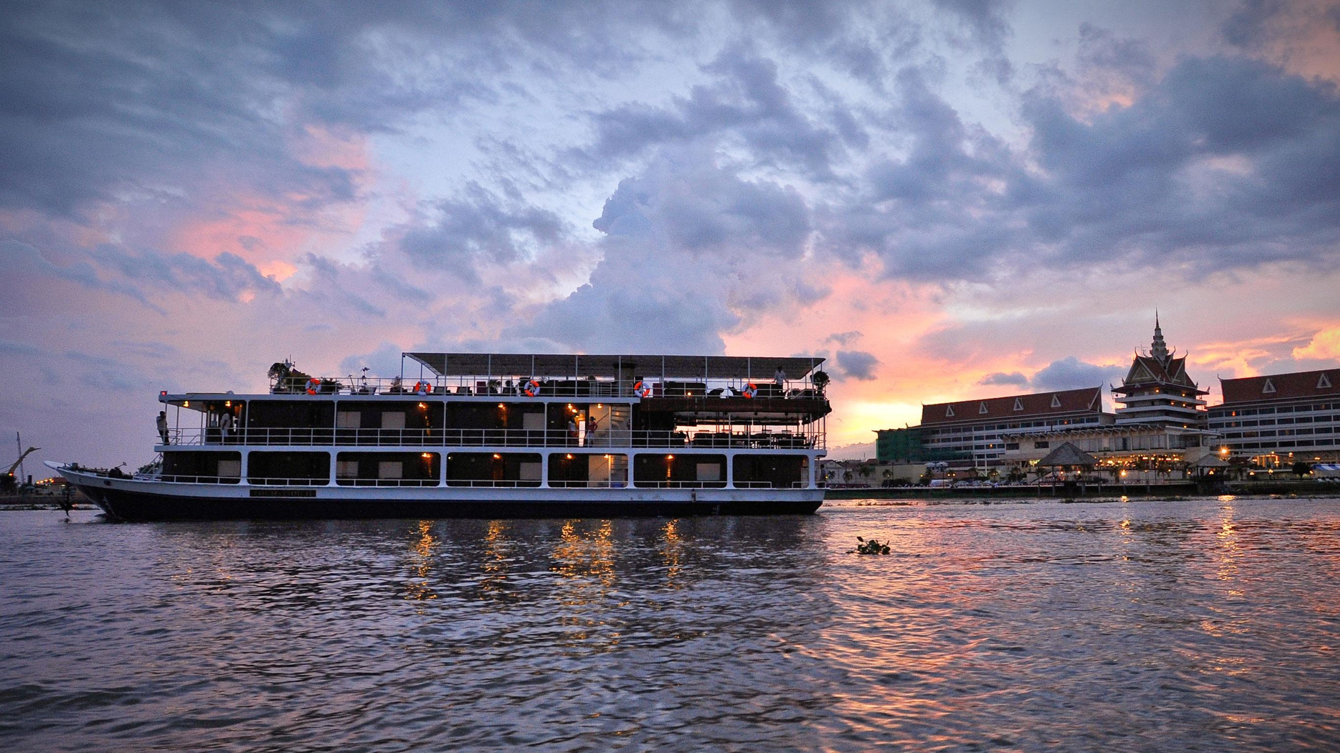 Mekong Kreuzfahrt – Von Ho-Chi-Minh-Stadt nach Siem Reap