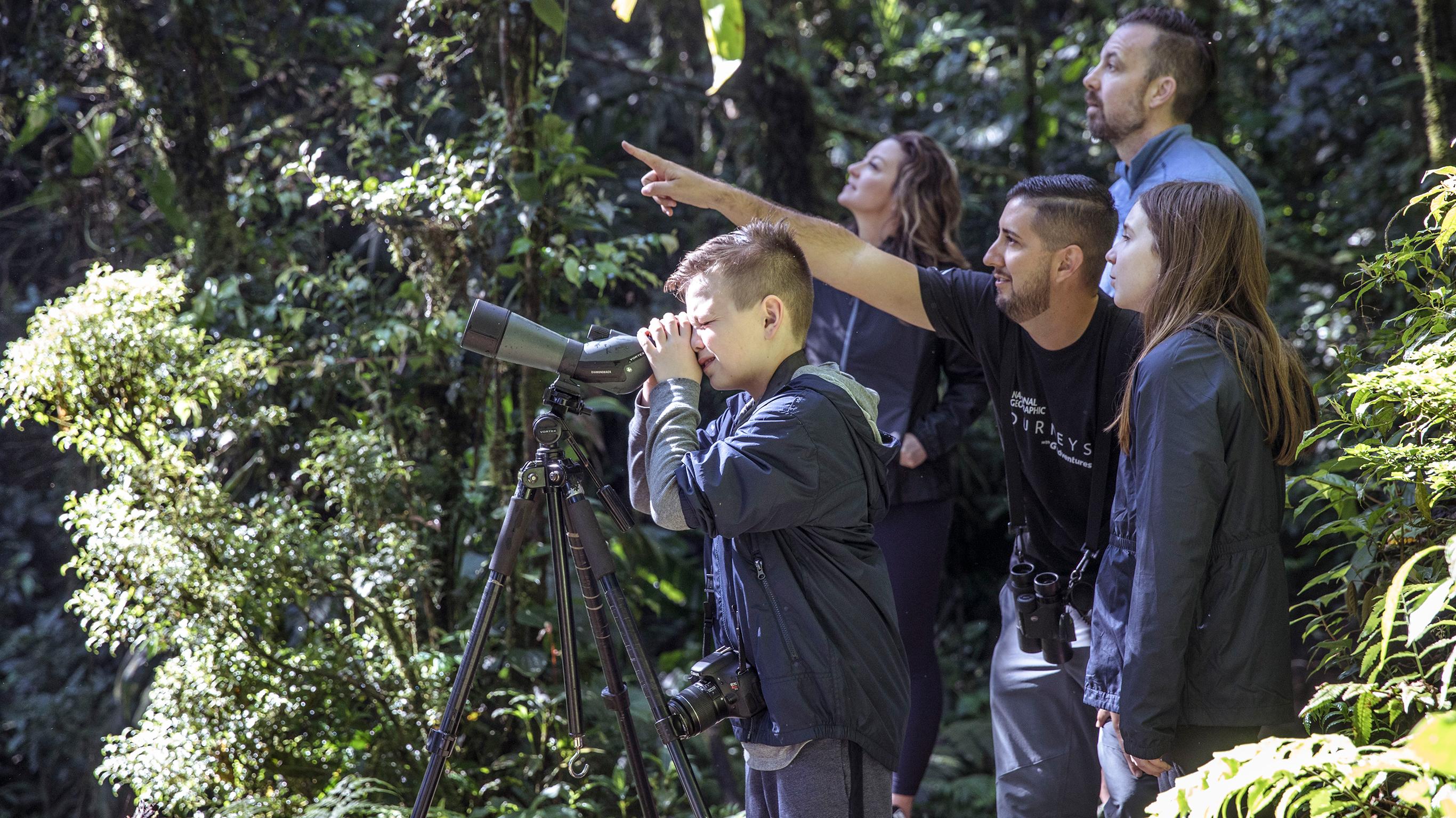 Costa Rica Family Journey: Vom Regenwald zur Küste