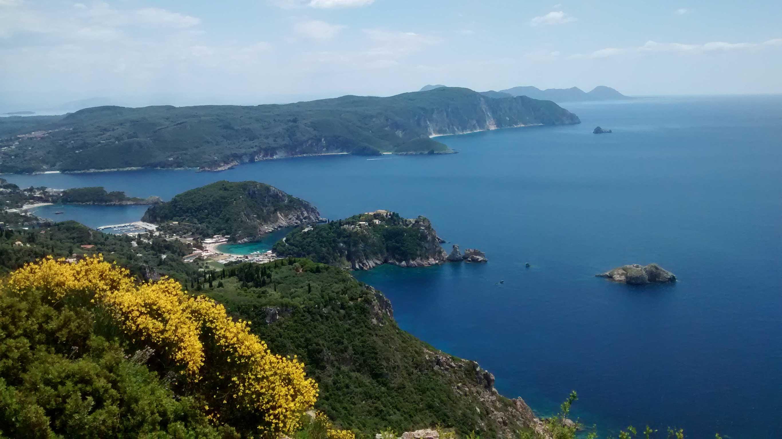 Wandern auf dem Korfu-Trail
