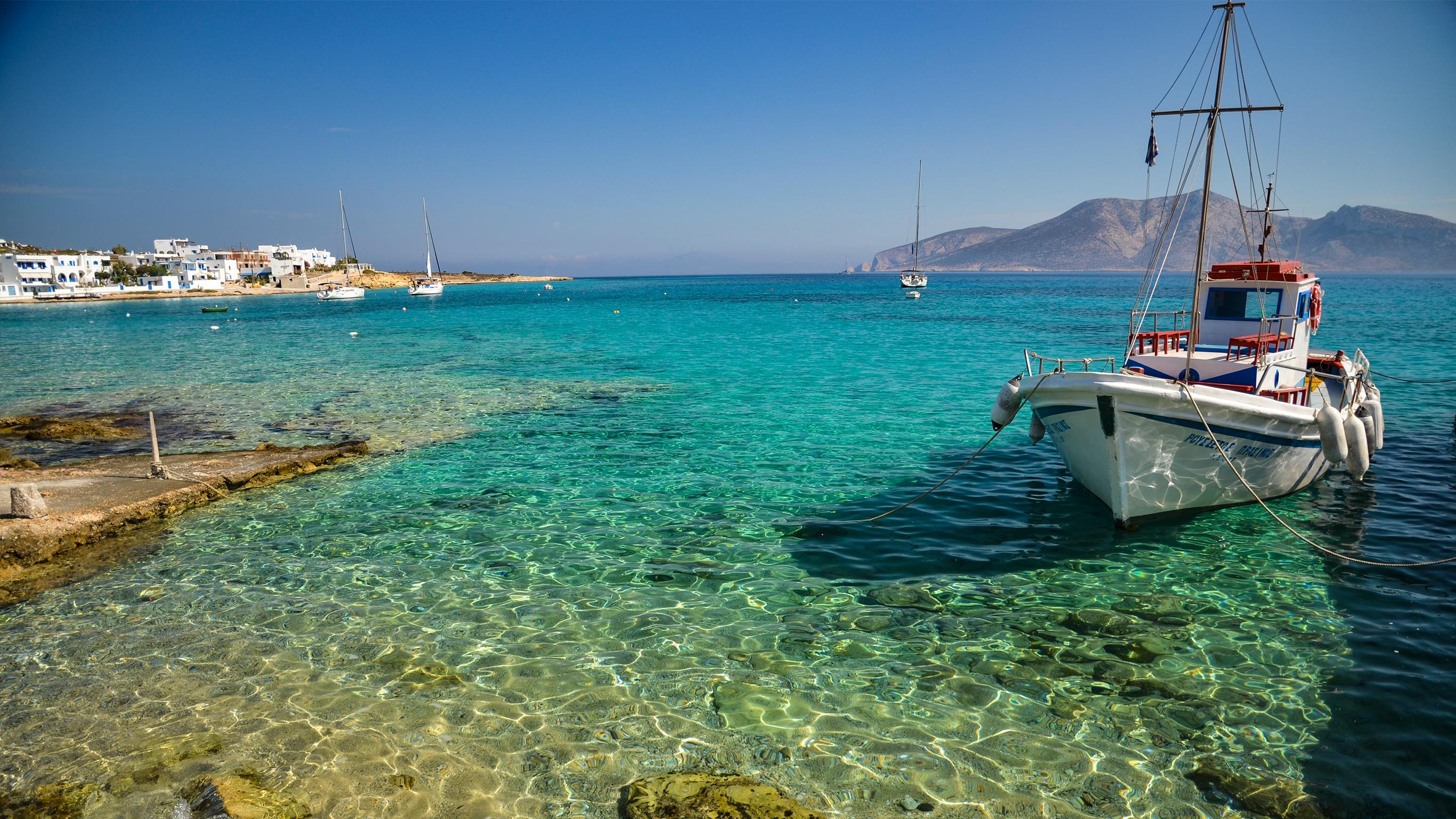 Segeln in Griechenland: Von Athen nach Mykonos