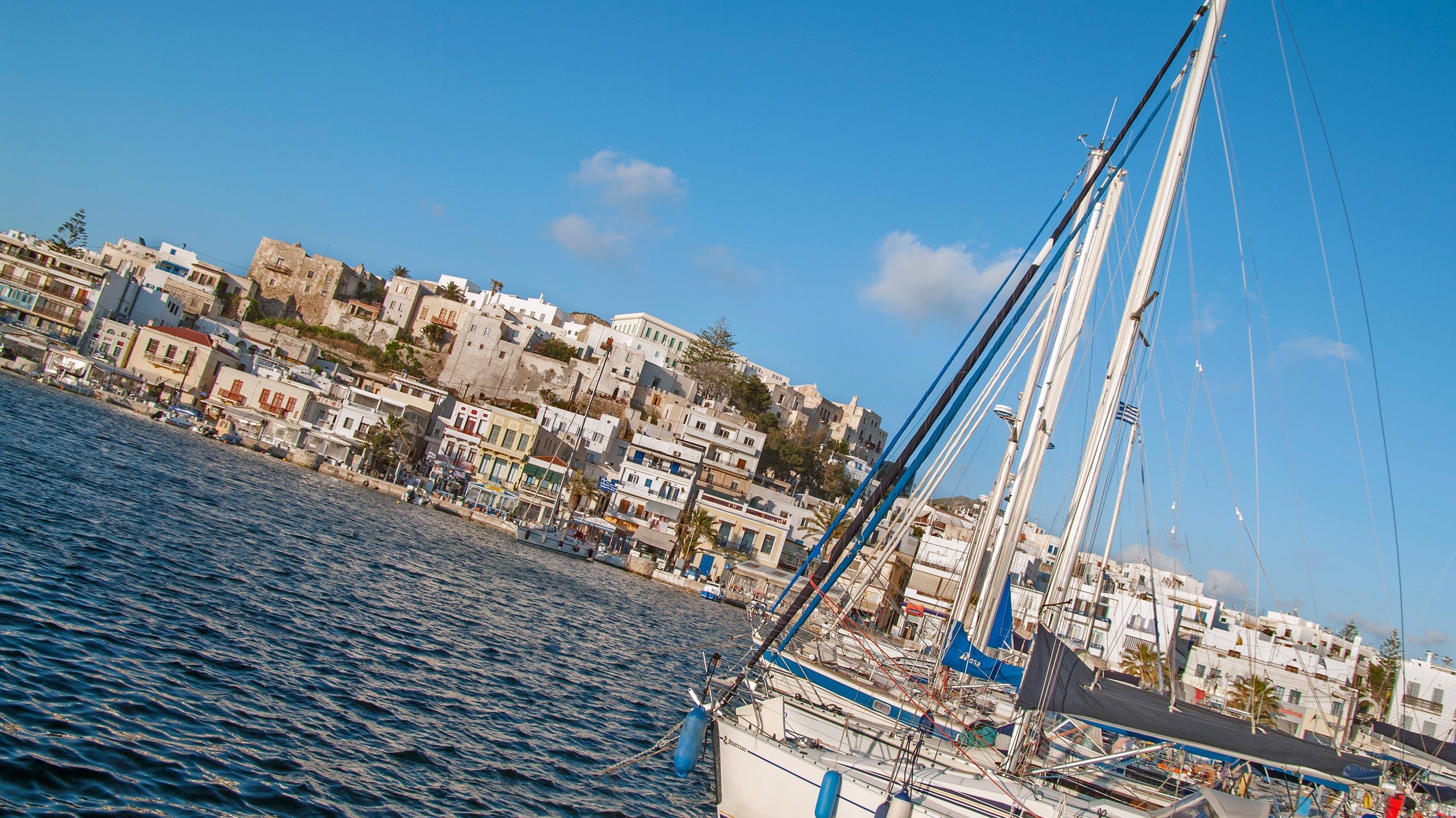 Segeln in Griechenland – Von Athen nach Santorini