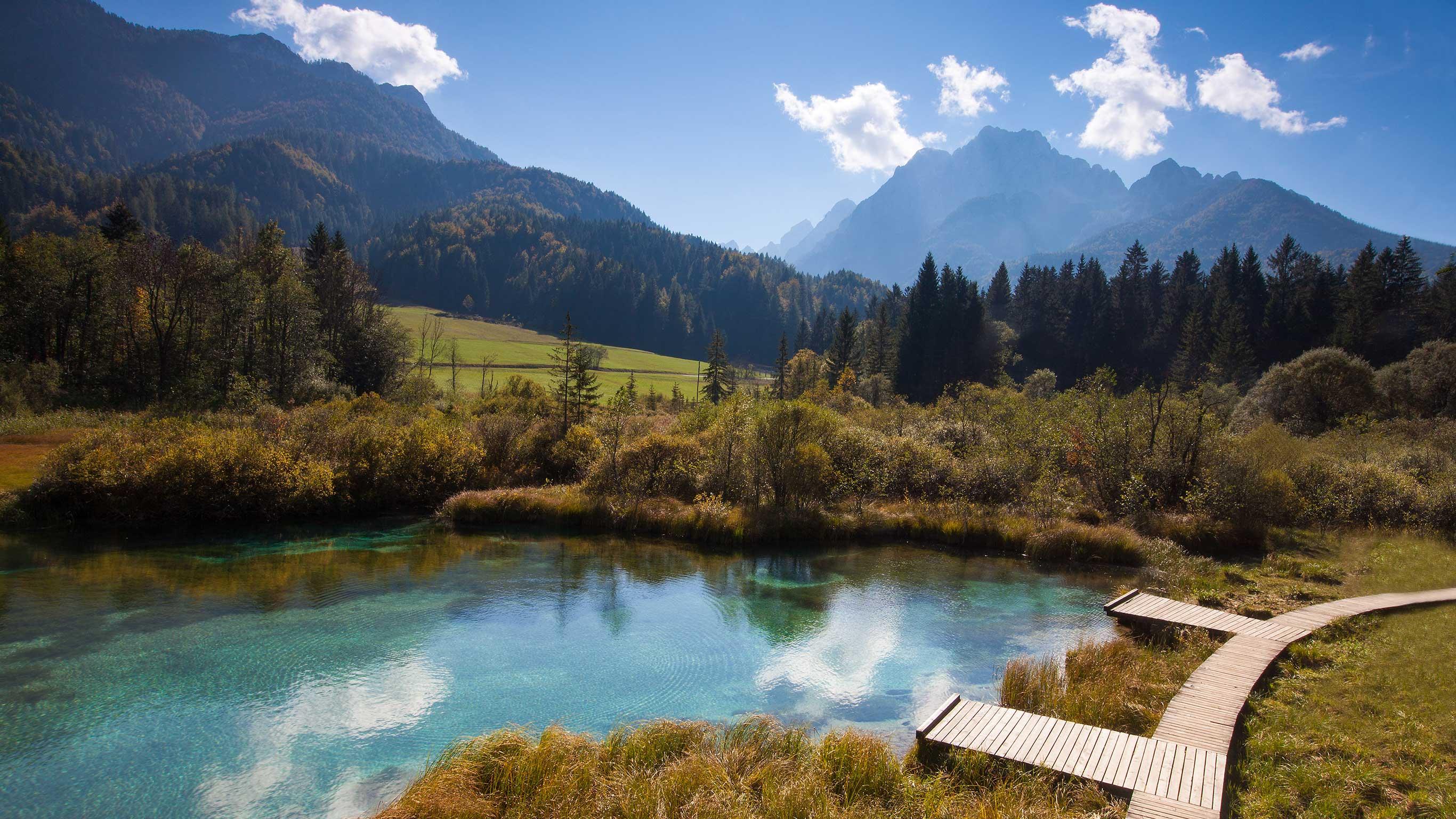Entdecke Slowenien: Wandern in den Julischen Alpen