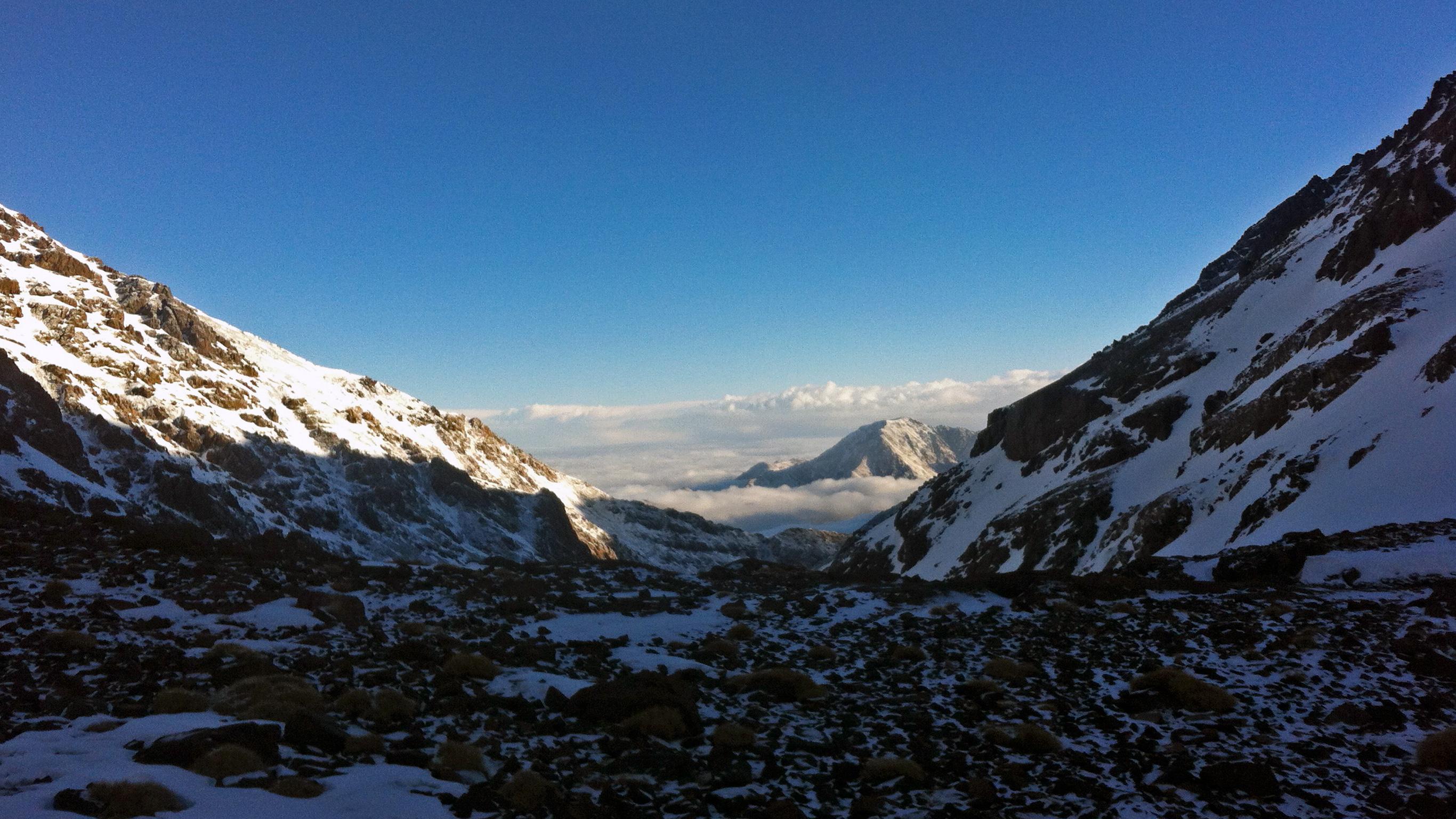Zum Gipfel des Toubkal in Marokko