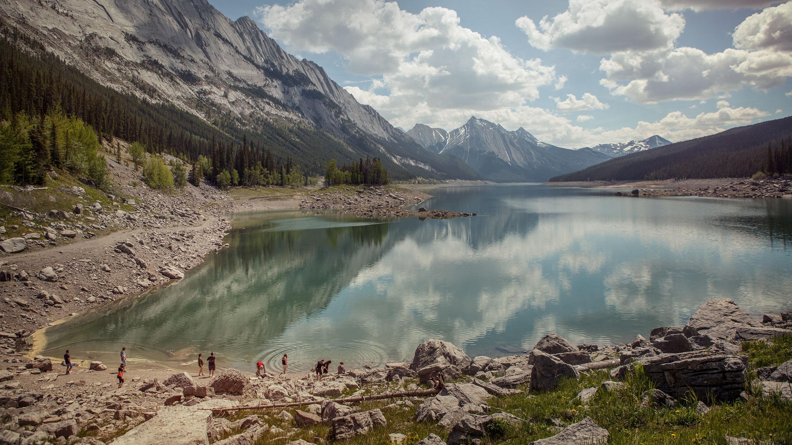 Kanadische Rockies total