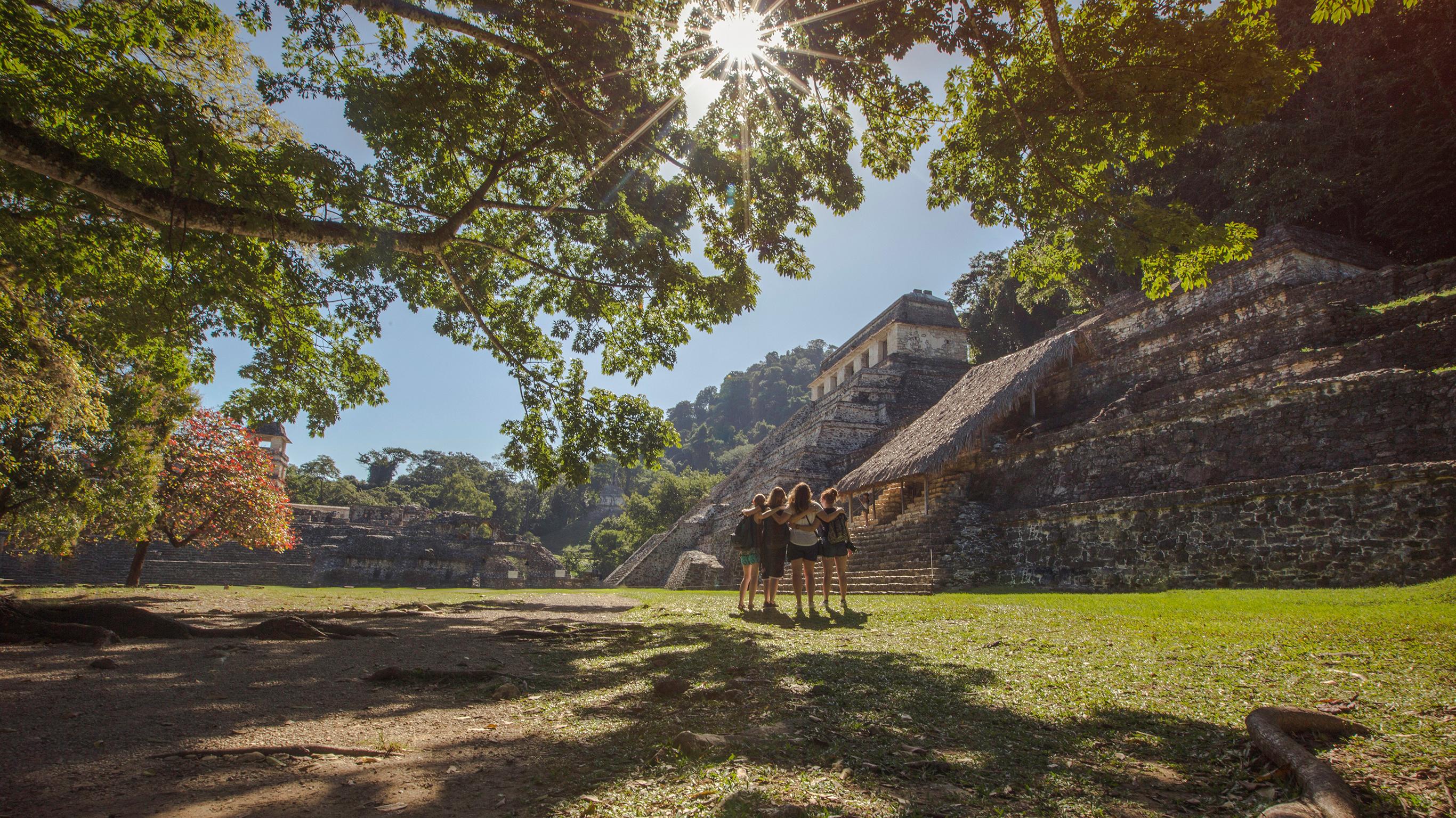 Auf den Spuren der Maya