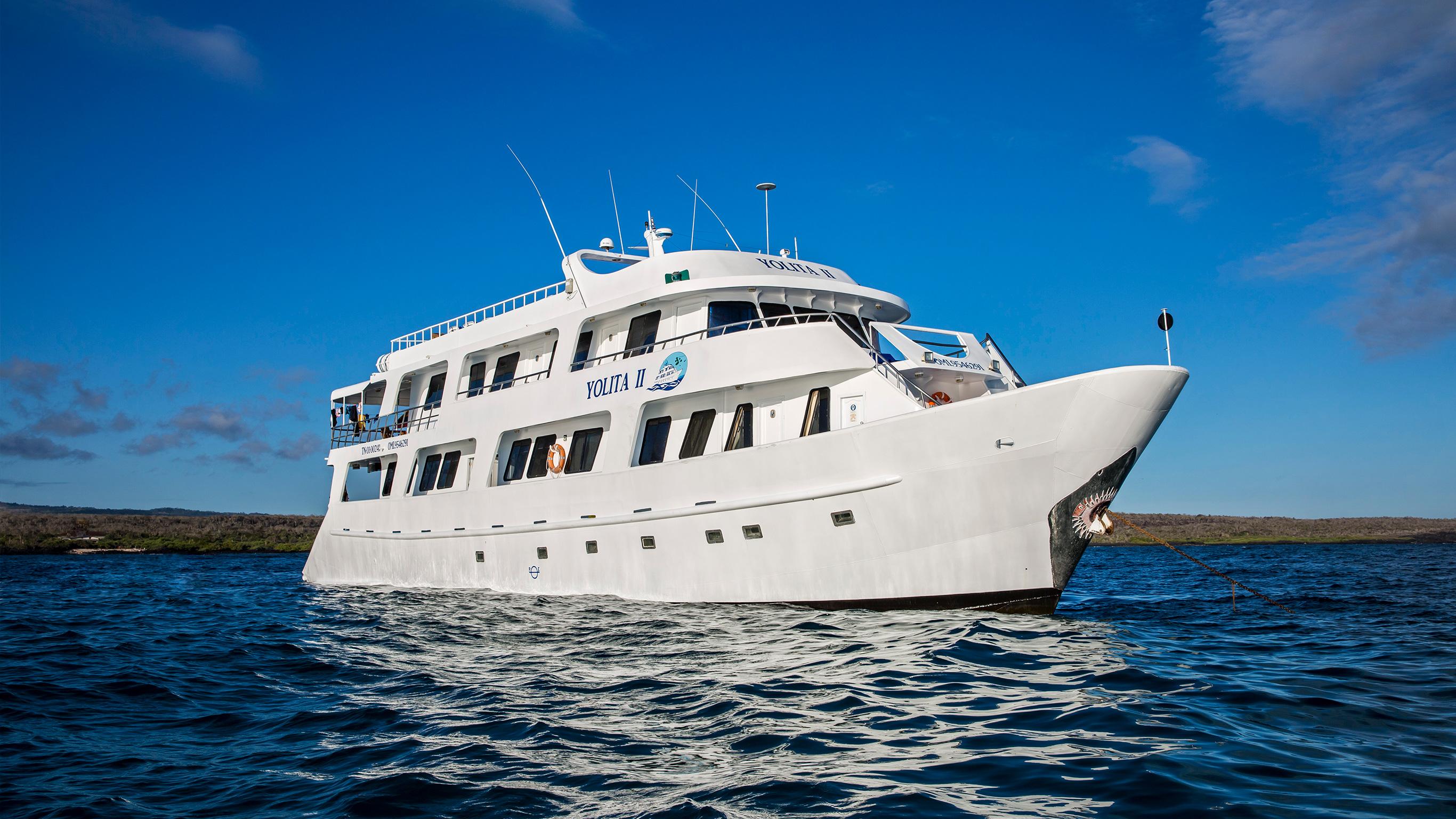Galápagos – Zentrale, südliche & östliche Inseln an Bord der Yolita