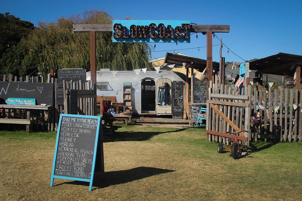 The original Slow Coast pop-up shop in Davenport.