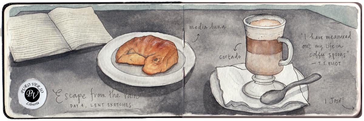 "In Uruguay, croissants are called medialunas — Spanish for ""half moon."""
