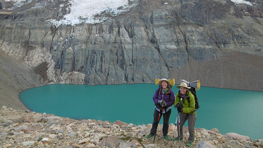 These experienced thru-trekkers are travelling length of the Americas, together. Photo courtesy Her Odyssey.