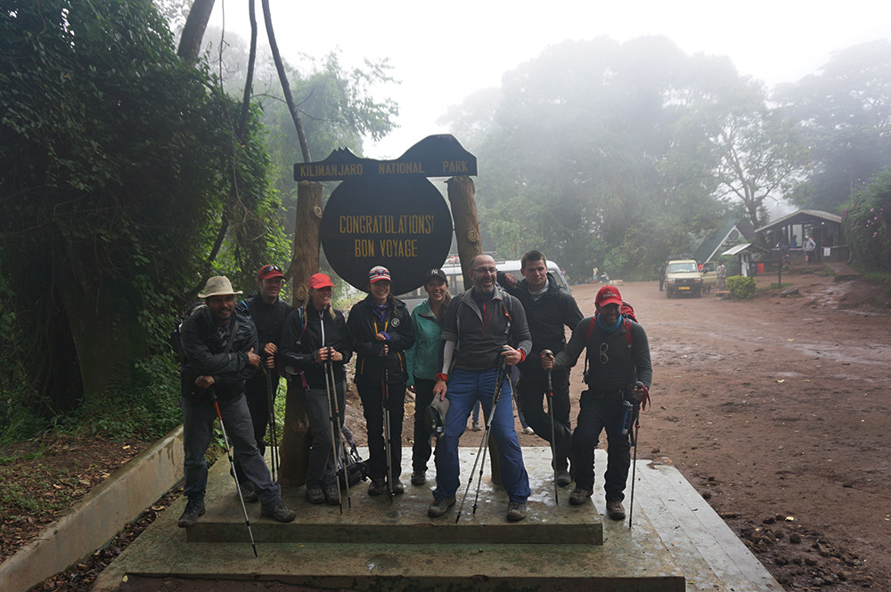More than about acutally making the summit, trekking Kili is about the friends you meet along the way.