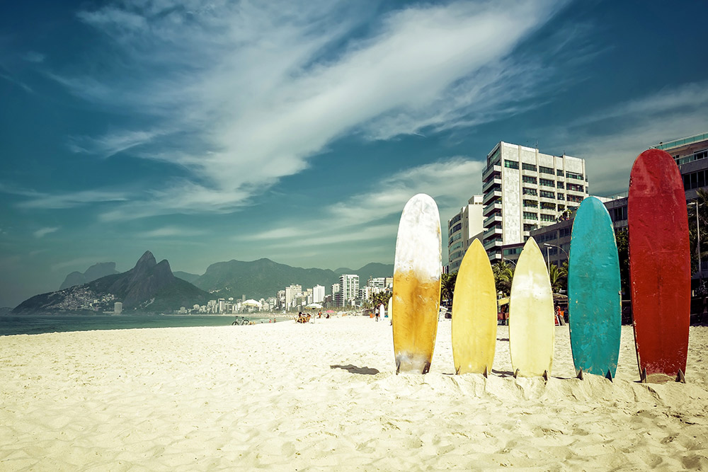 Rio's beaches welcome all shapes and sizes. Photo courtesy Marchello74, Dreamstime.