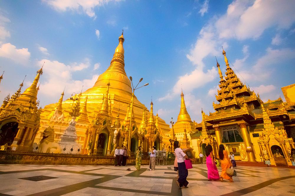Shwedagon Pagoda in Yangon. Photo courtesy of Atlas & Boots.