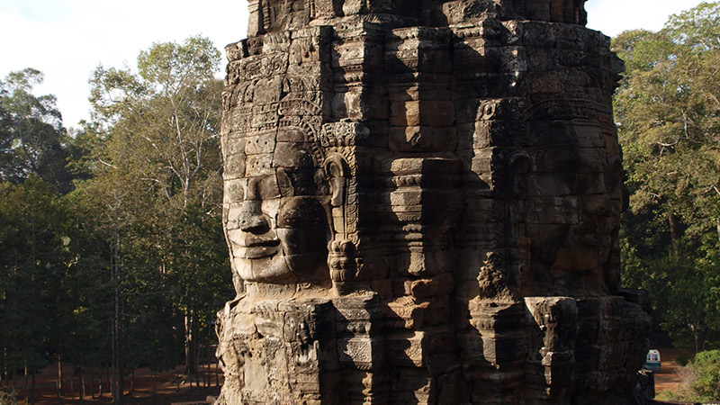 There's much more to Ta Prohm than what's been featured in the movies.