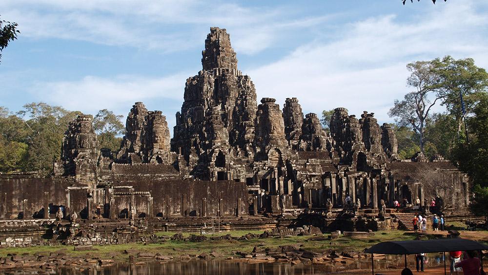 Bayon temple landscape.