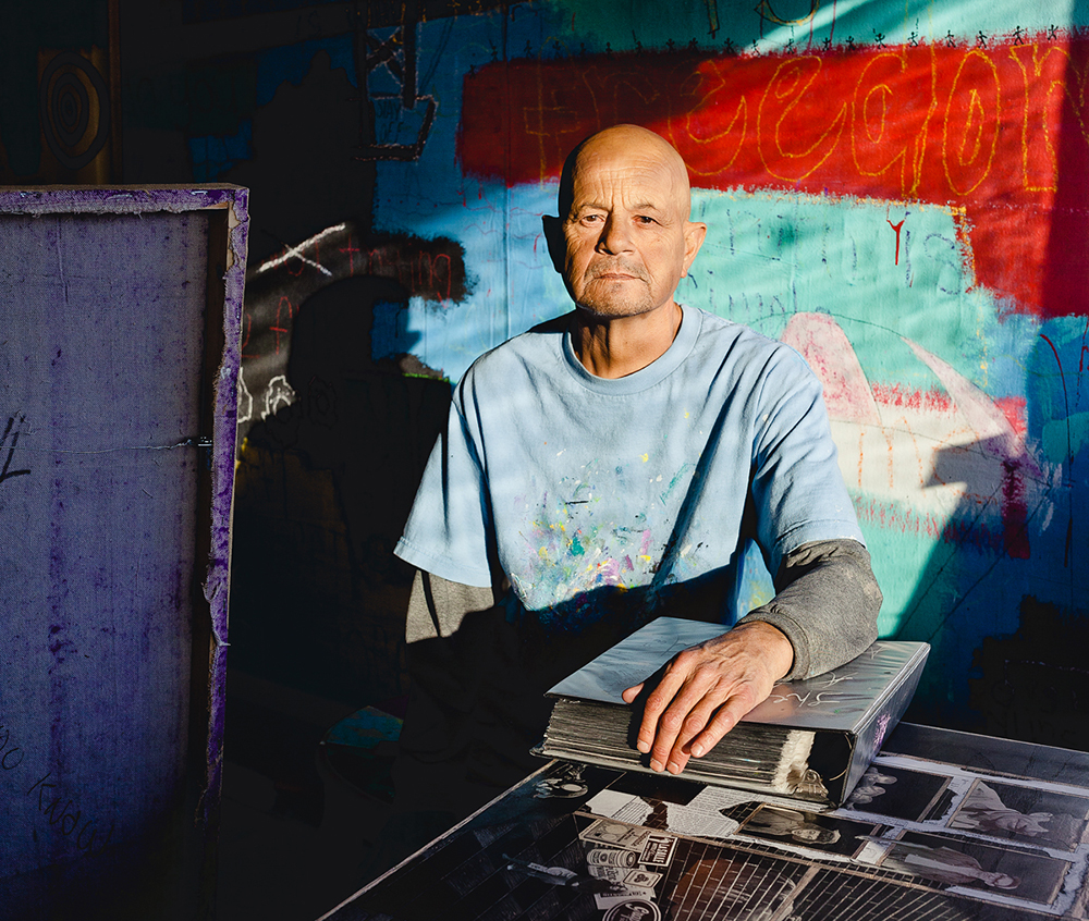 Artist Alex Huerta has been selling his art — and making a living at it — in downtown Las Vegas for nearly a decade.