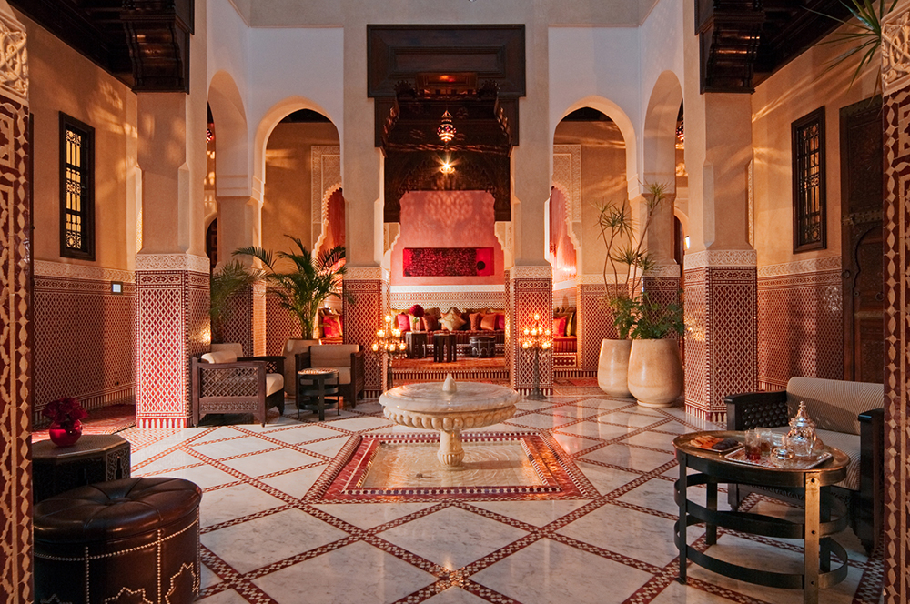 The Royal Mansour in Marrakech is regal and luxurious. Photo courtesy of Patrick S.