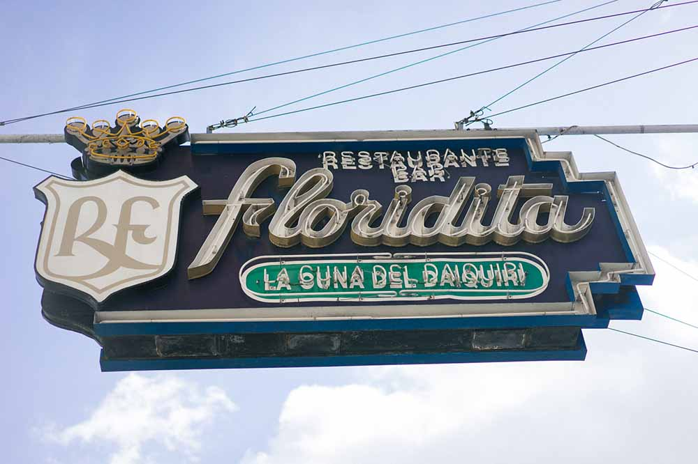 Floridita isn't exactly a hidden gem, but it's a must-do.