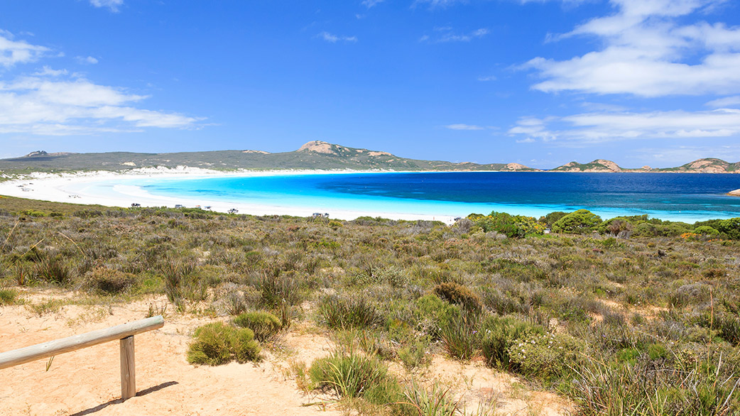 Make the high-drama southern coastal drive east toward Esperance.
