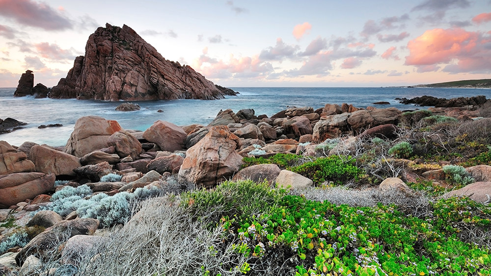 Do be sure to pass by Sugarloaf Rock on your visit to Margaret River.
