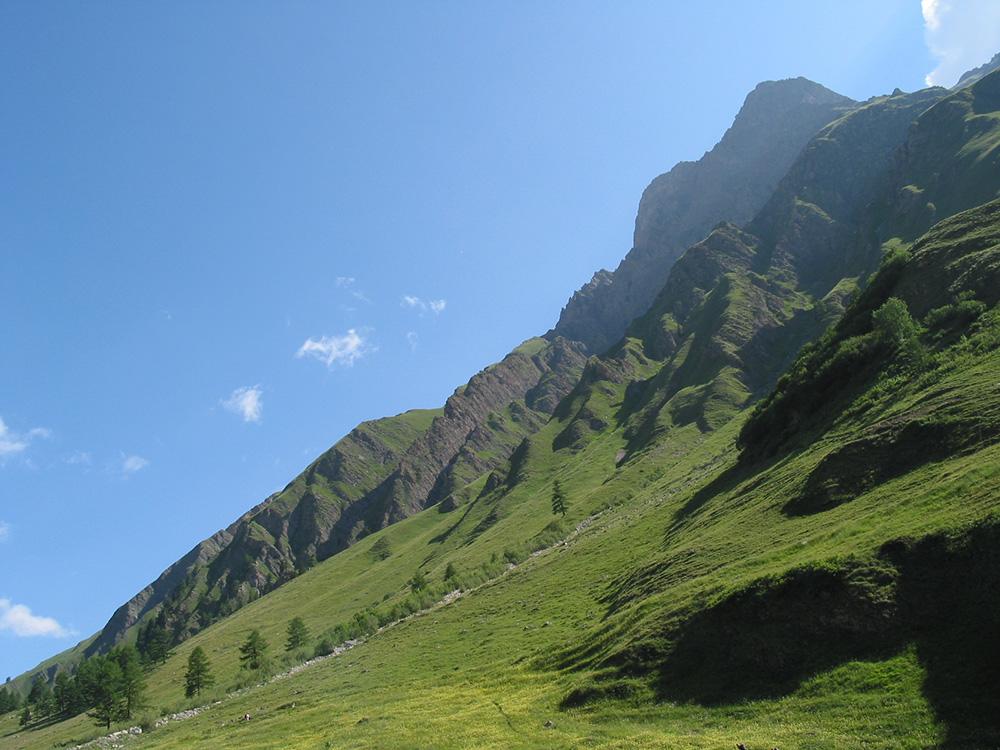 The picturesque Val Ferret region.