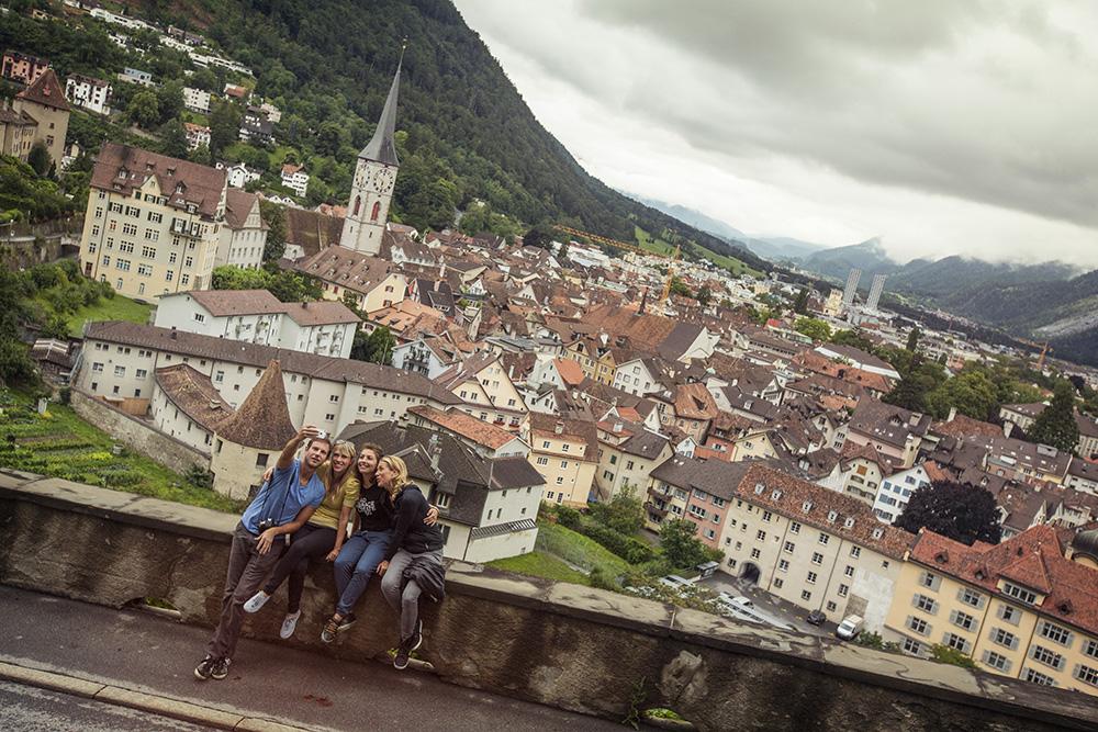 The fairytale village of Chur.
