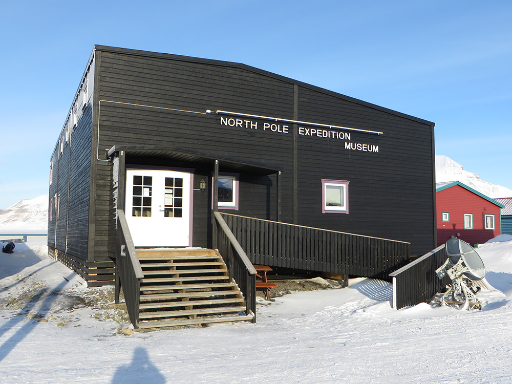 Longyearbyen's North Pole Expedition Museum is small but educational. Photo courtesy of Bernt R.