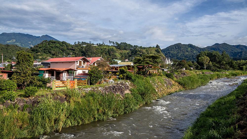 There's fertile soil around the Rio Caldera in Boquete, Panama. Photo courtesy Cali H.