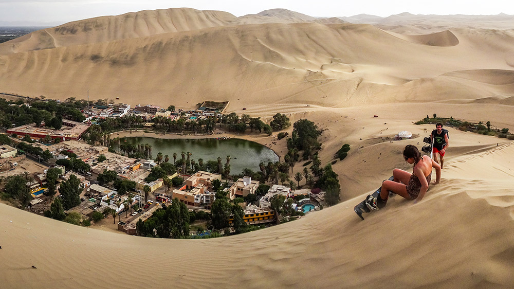 At first glance, Huacachina appears like a mirage. Photo courtesy Babak F.