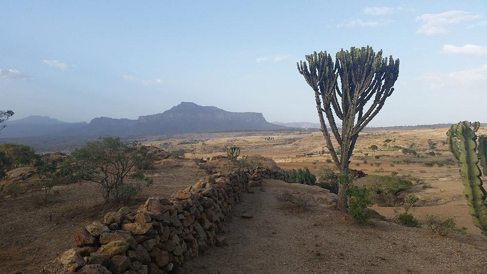 Gheralta Mountains in the Tigray Region. Photo courtesy Robert Reid.