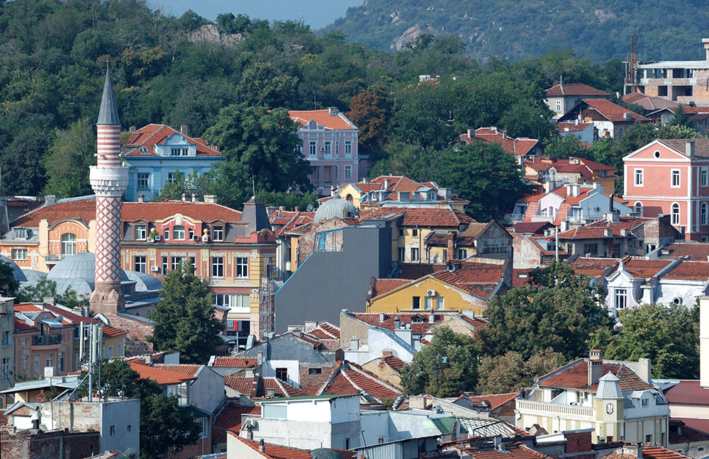 Plovdiv is a city made of seven hills.