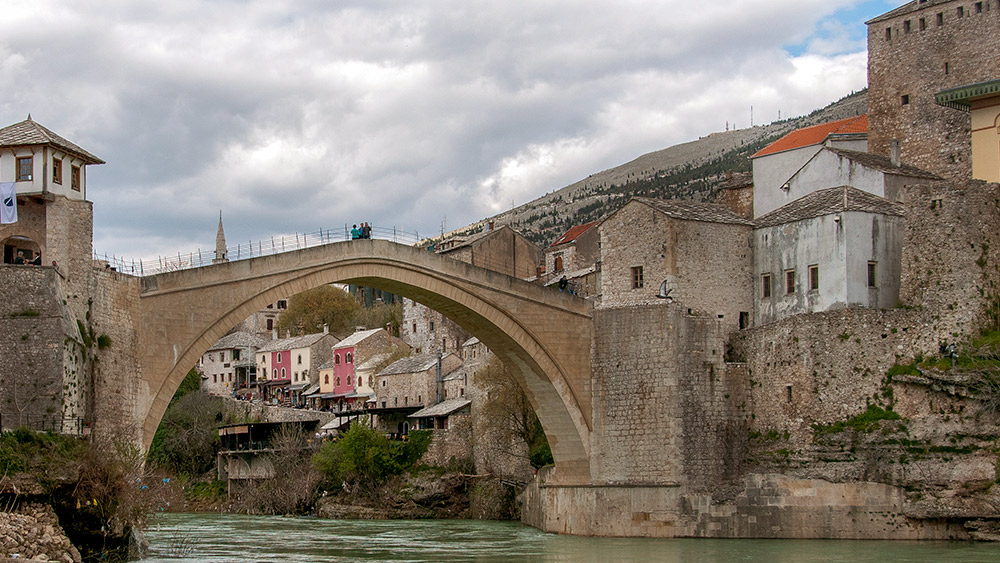 Today, the Stari Most stands as a connection between cultures and religions.