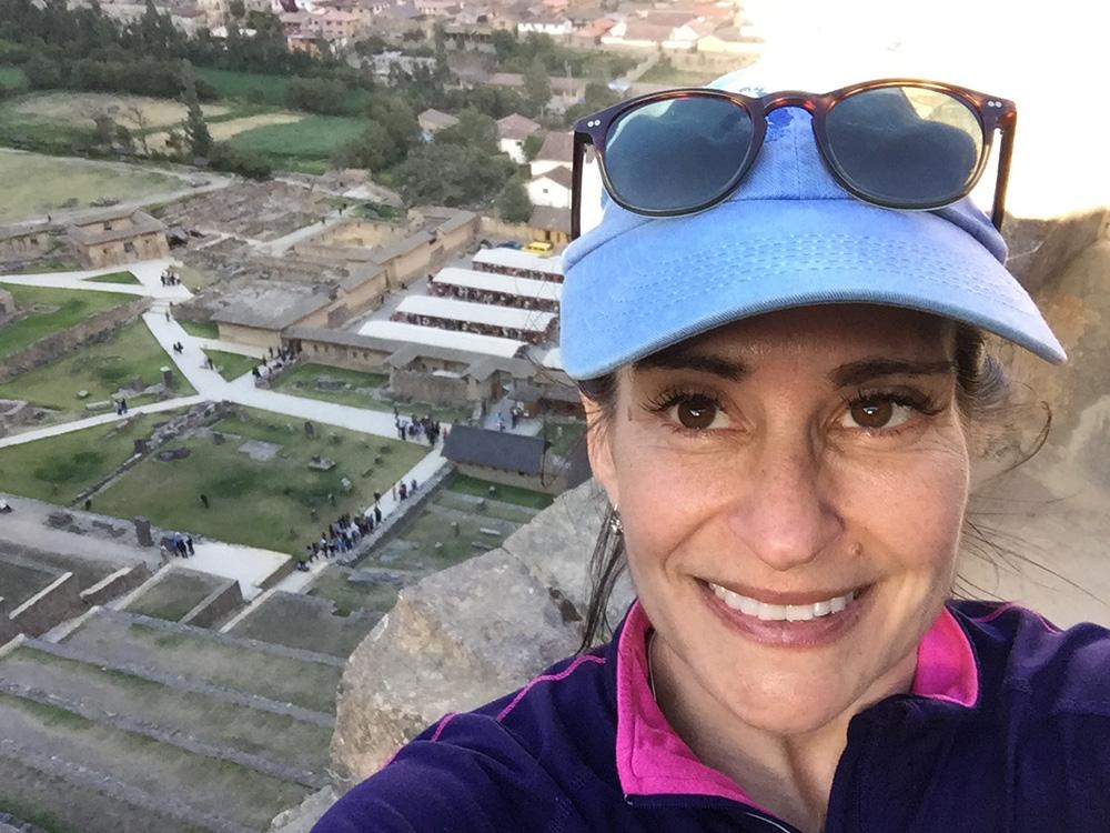 Author Susan McPherson during her G Adventures trip to Peru.
