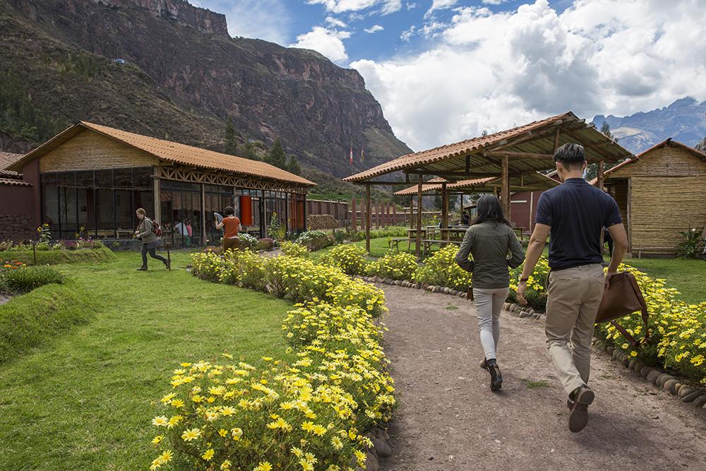 The Parwa Community Restaurant in Peru's Hidden Valley.