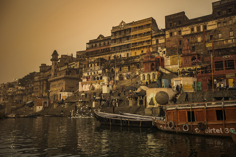 The Ganges is a sight to behold.