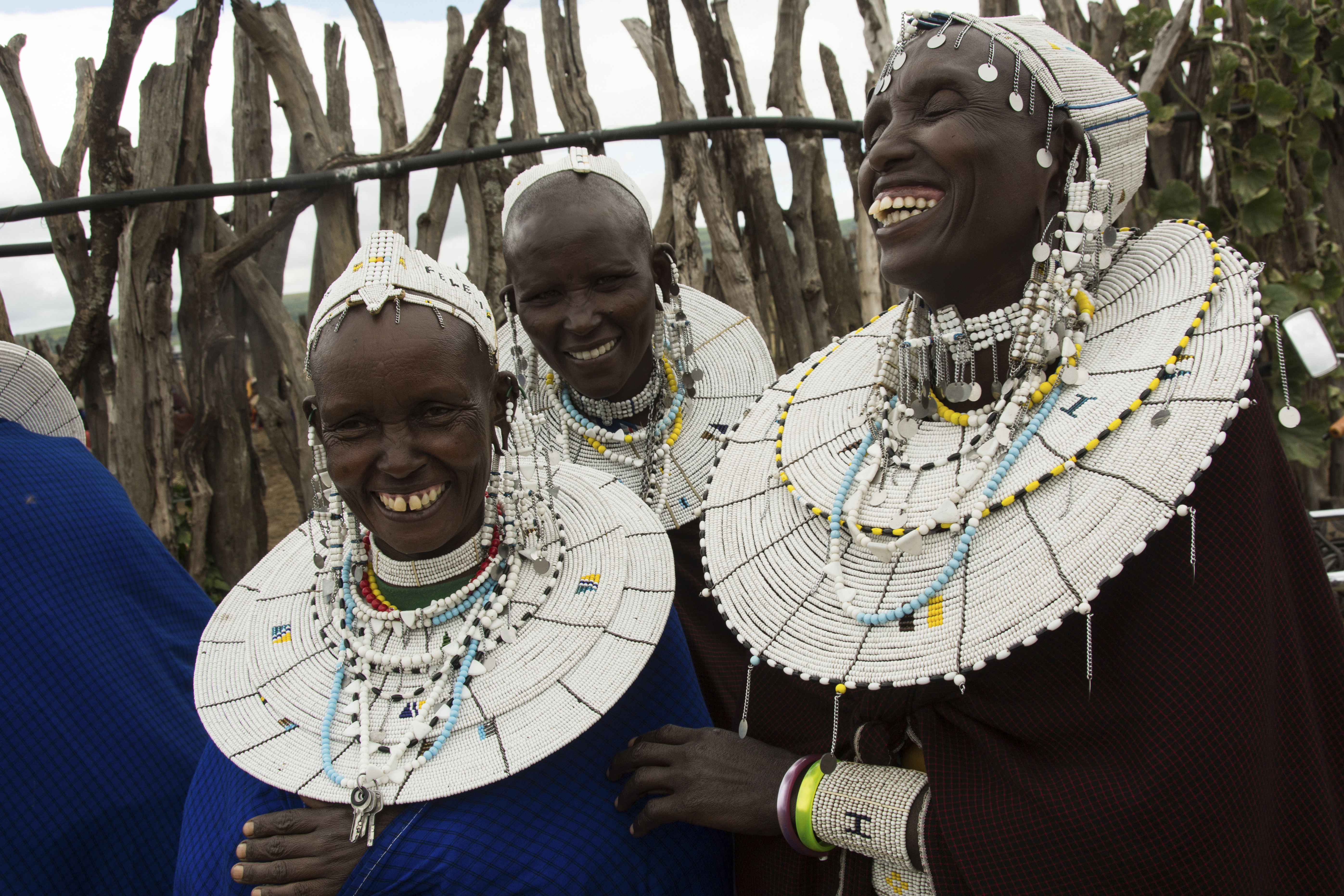 Laughter is a universal language. Uncornered Market visit the Good Clean Cookstoves project in a Maasai village outside of Arusha, Tanzania.