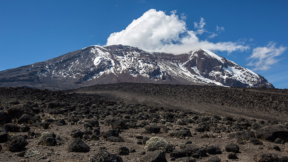 Mt Kilimanjaro is waiting for you.