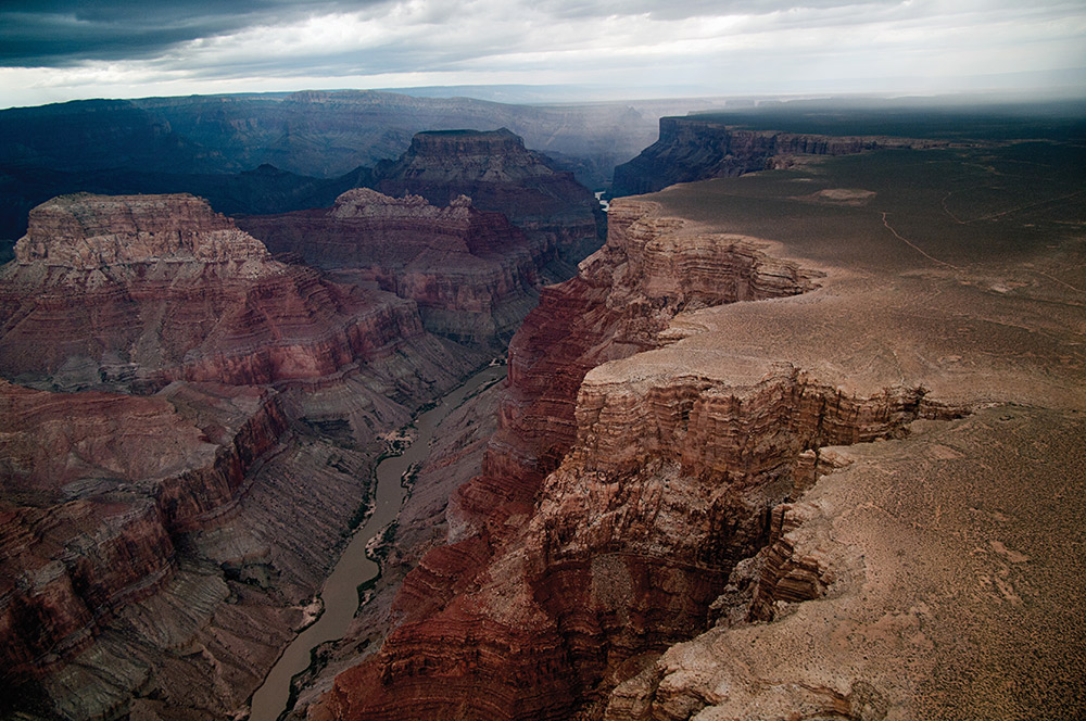 Views for days in Arizona's Grand Canyon.