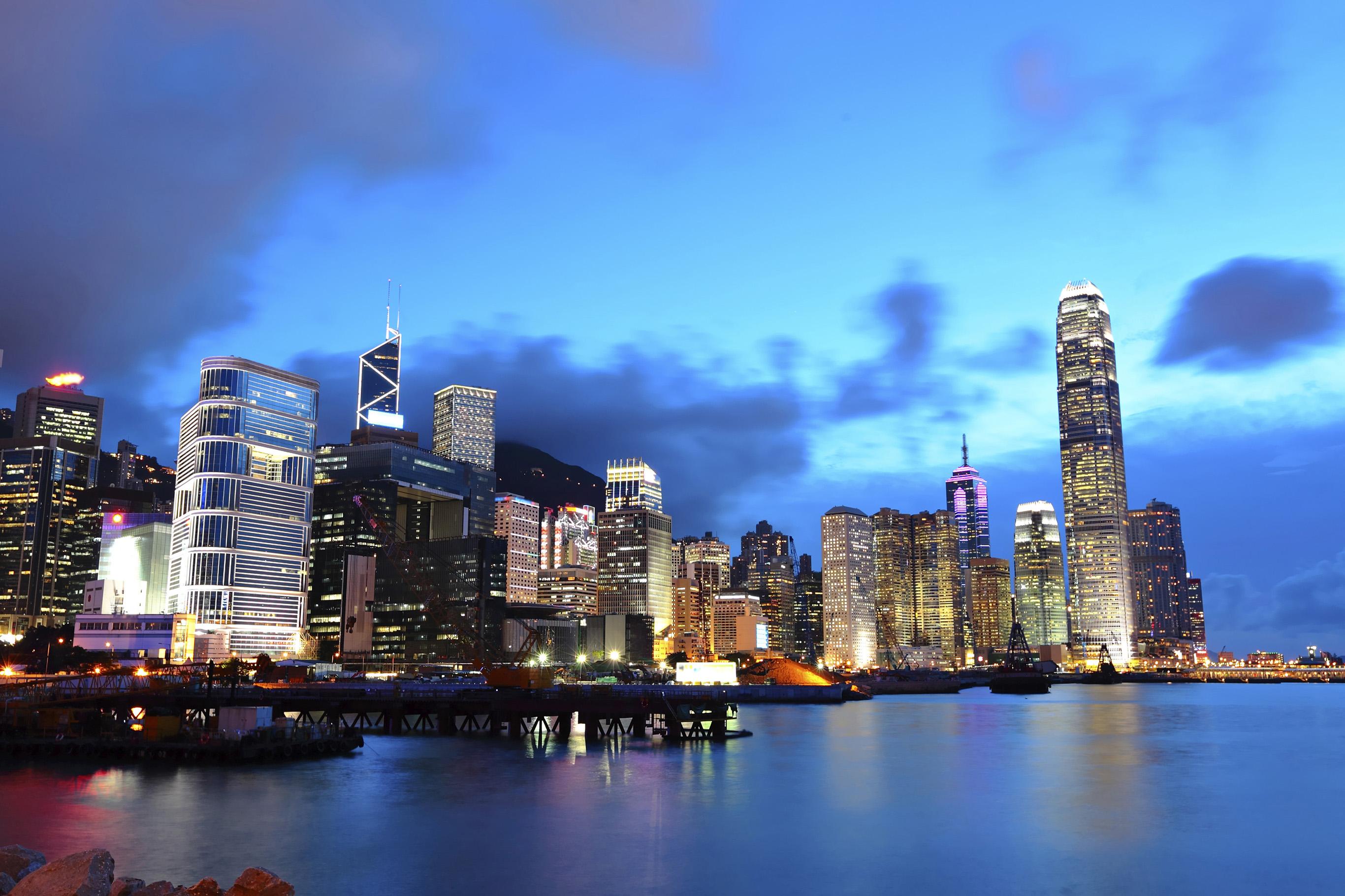Matkalaukku Hong Kong