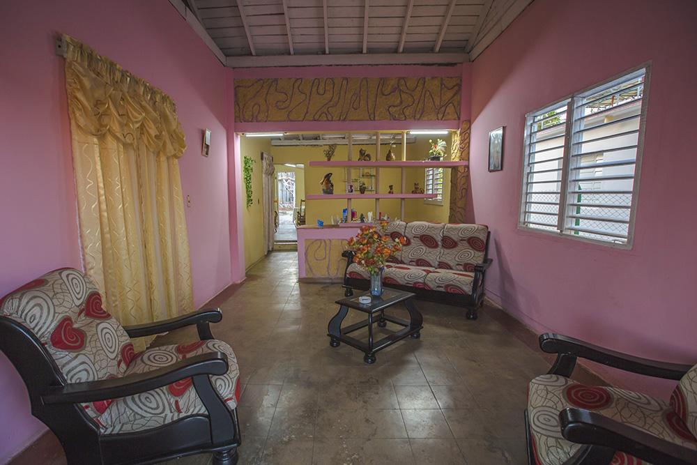 One of G Adventures' homestays in Cuba.