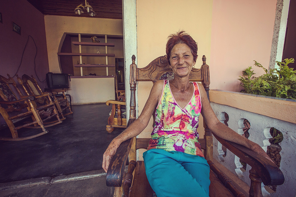G Adventures homestay host Maira Hernandez.