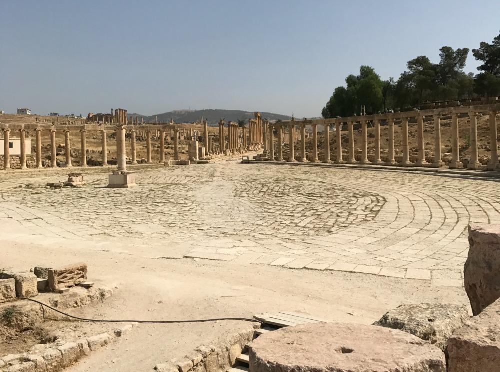 Some of Jordan's stunning ruins.
