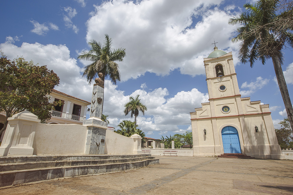 Viñales' city centre.