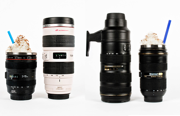 Canon/Nikon Lens Mugs