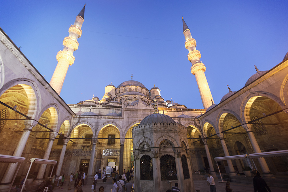 A mosque in historic Istanbul.
