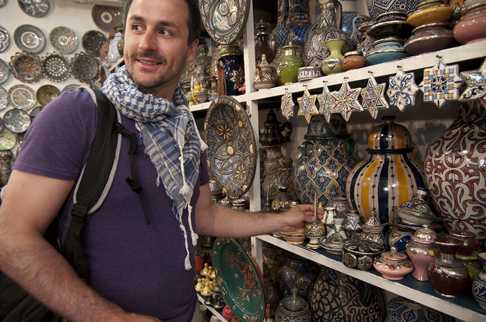 Haggling in Morocco is a shopping experience unlike any other.