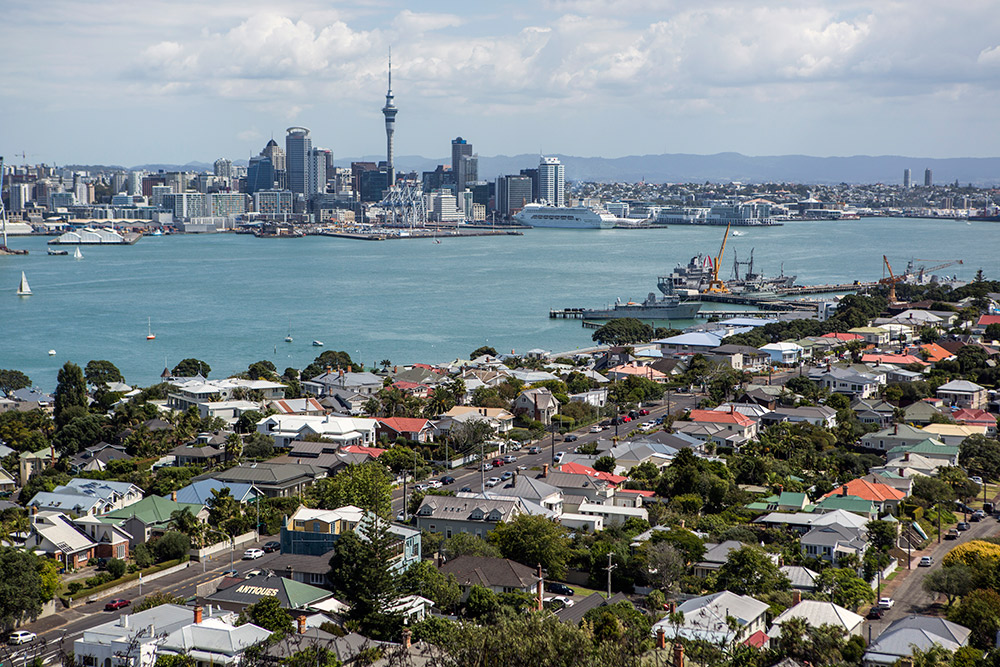Auckland's breezy spring atmosphere makes it easy to keep busy.