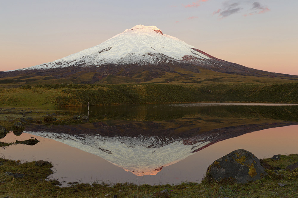 There's more than a few options for seeing Cotopaxi on offer.