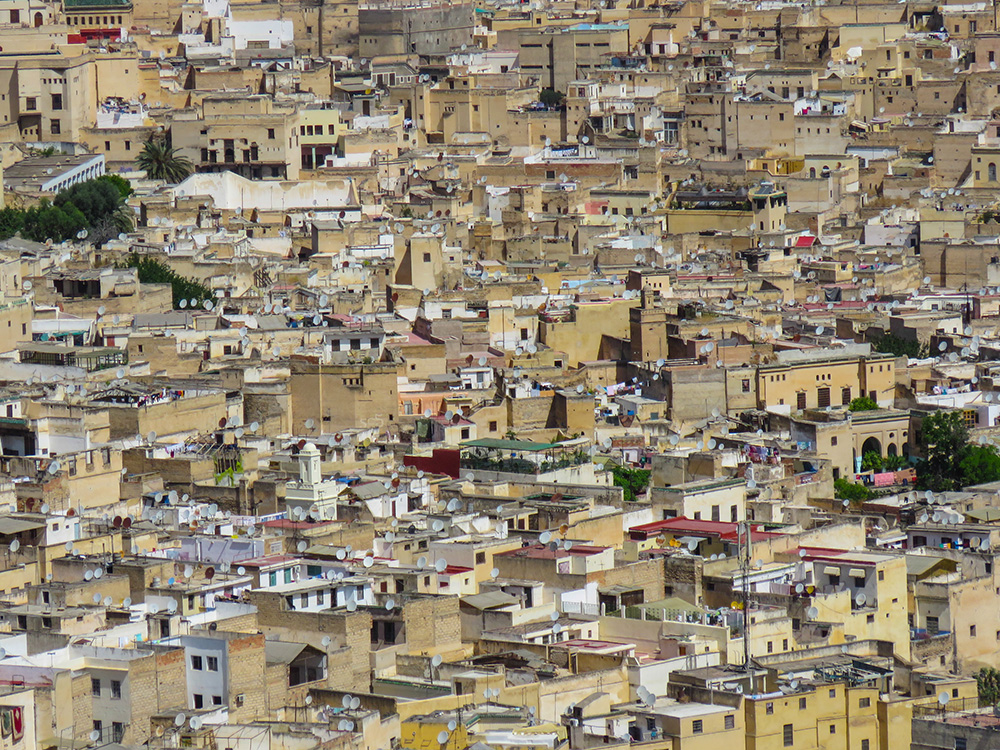 The Fes cityscape. Photo courtesy of daniel.