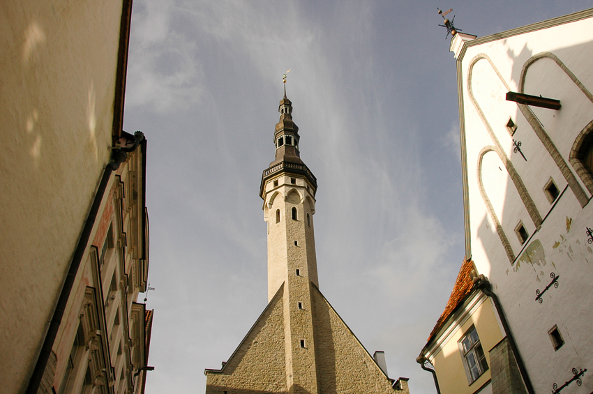 Tallinn's old town, including its famous Town Hall dating from 1404.