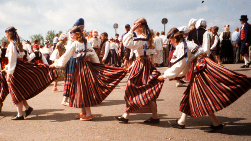 Memories from an Estonian song festival, years later.